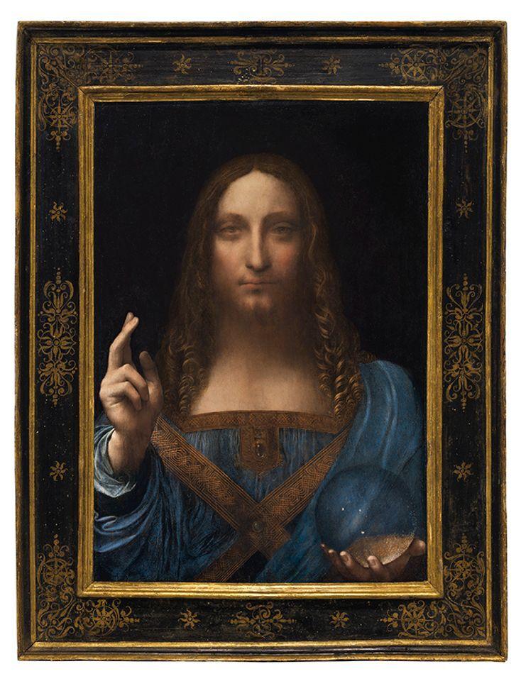 Leonardo's Salvator Mundi Became The Property of Louvre Abu Dhabi