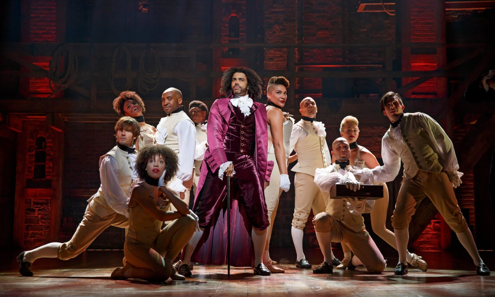 """This Isn't Colour-Blind Casting"": Hamilton Makes Its Charged West End Debut"