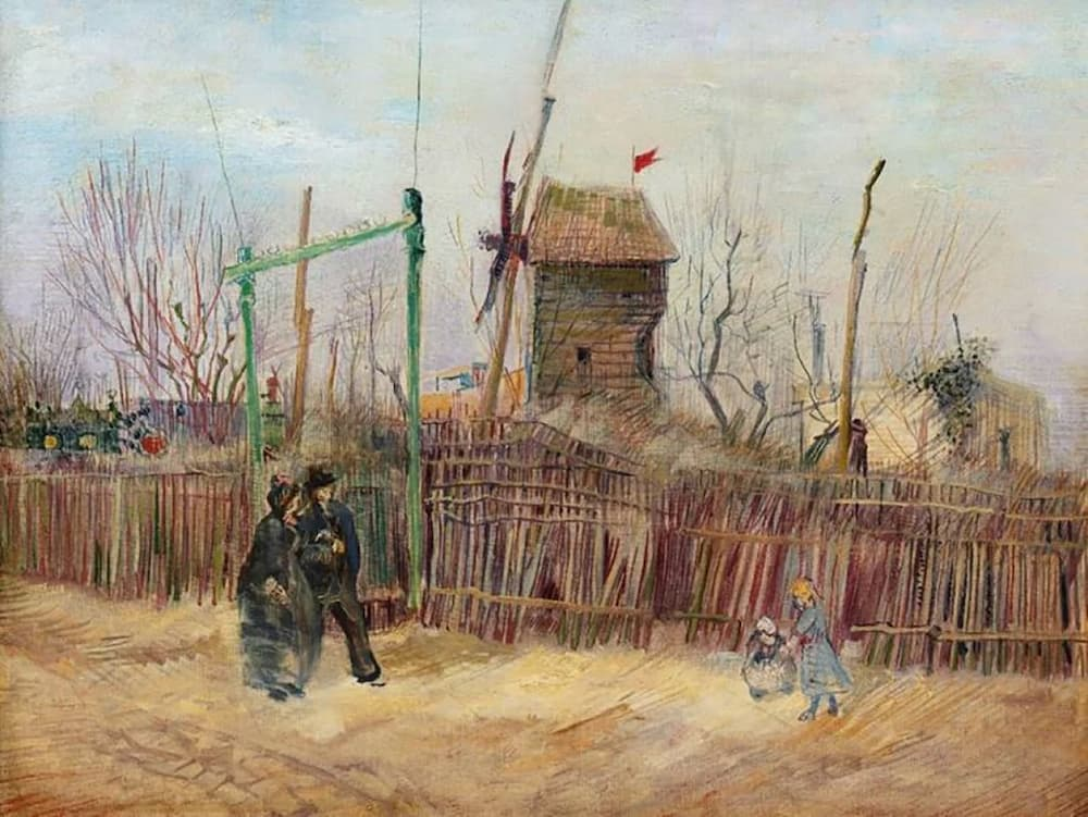 Unseen Van Gogh painting of Paris