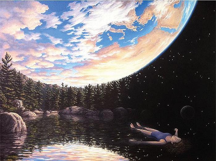 Children See The World In This Way. Artist Robert Gonsalves