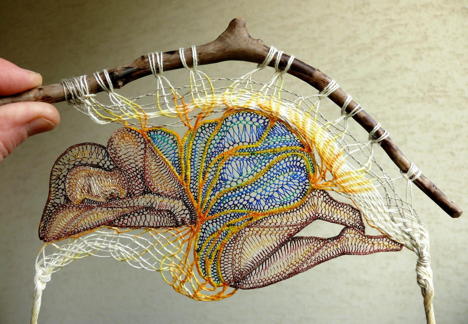 Agnes Herczeg Creates Unique Lace Sculptures