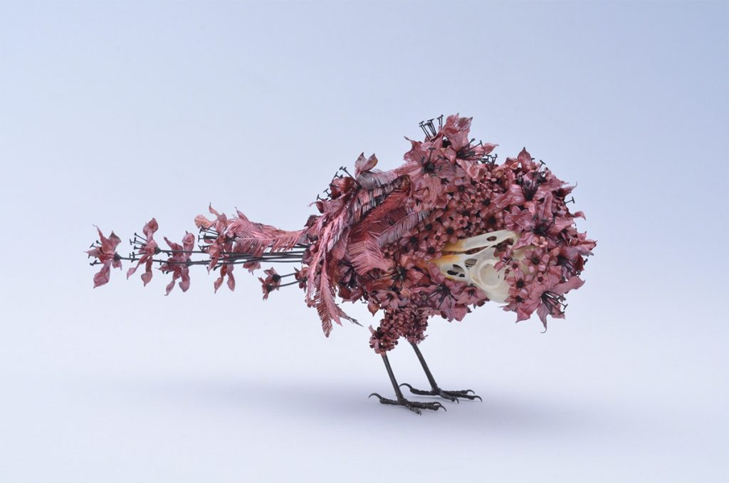 Blooming Metallic Birds and Other Animals by Taiichiro Yoshida