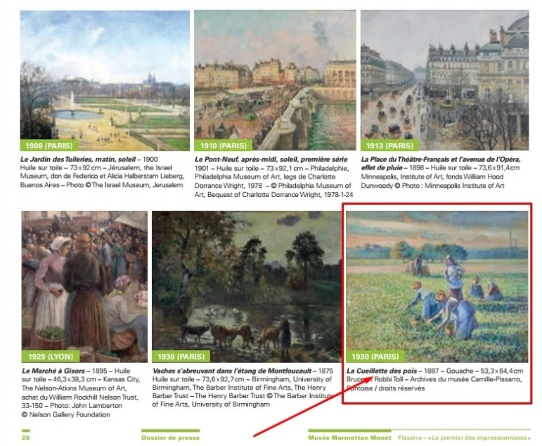 Pissarro's painting, taken by the Nazis 77 years ago, will be returned to the collector's family