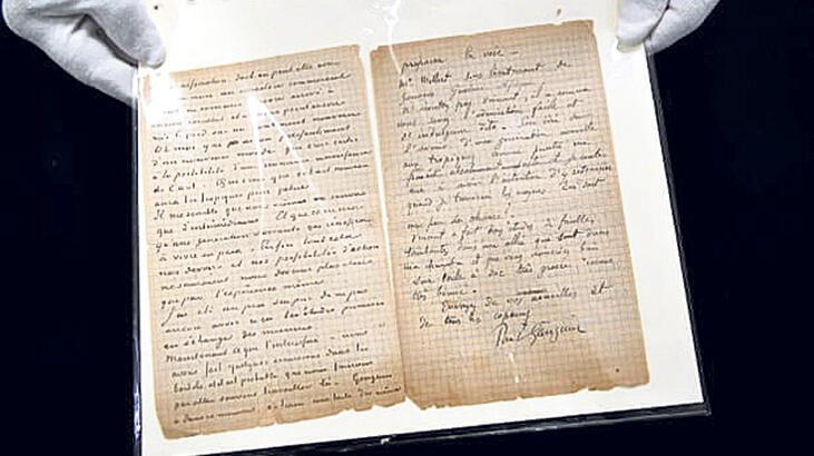 The Van Gogh and Gauguin Brothel Letter Was Sold for 210,600 Euros