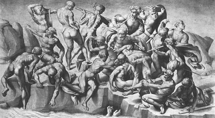 Battle of Kashin Michelangelo Buonarroti 1504