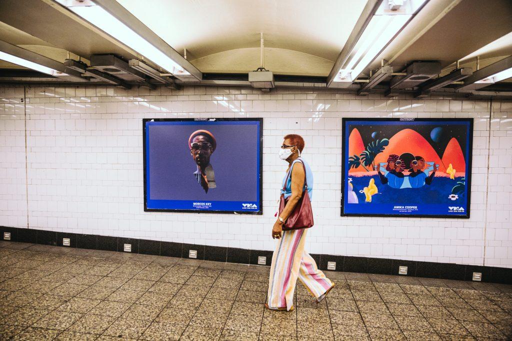 An Underground Art Show in a Brooklyn Subway Terminal