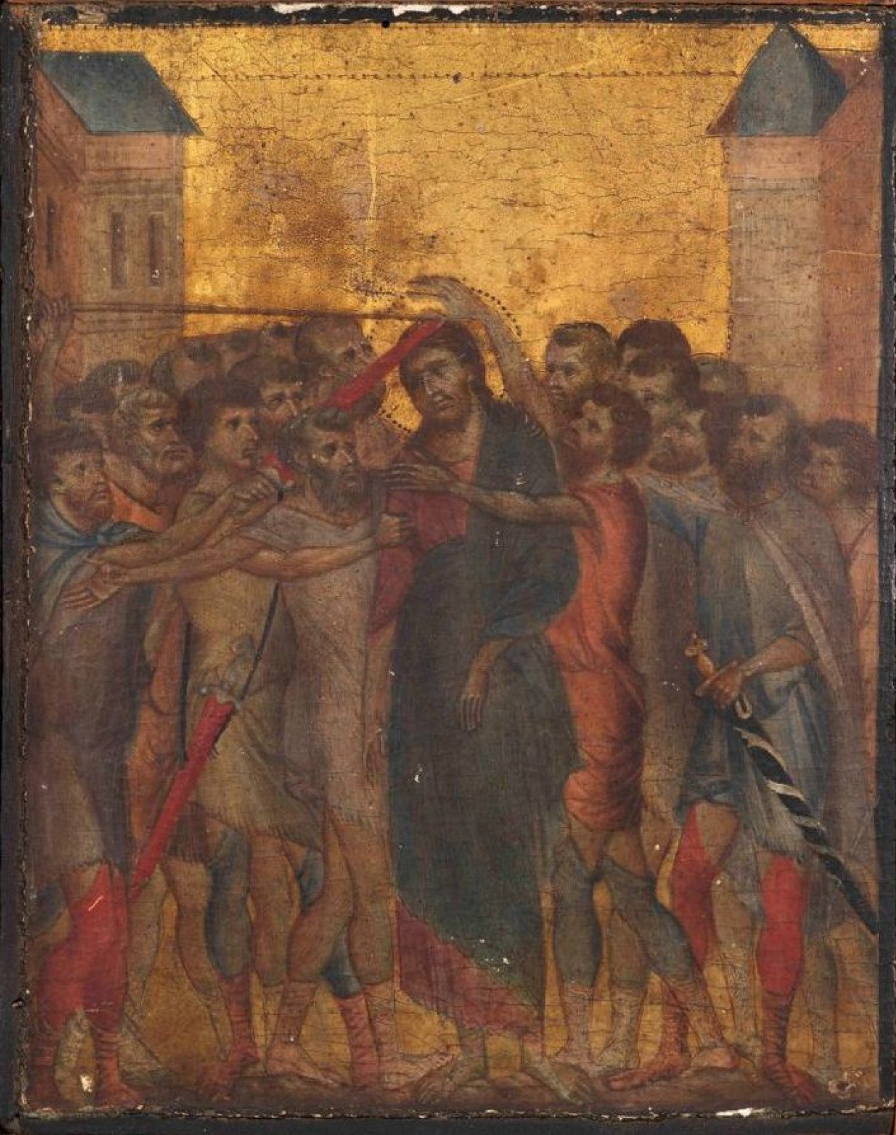 France has banned the removal of the masterpiece by Cimabue, found in the kitchen.