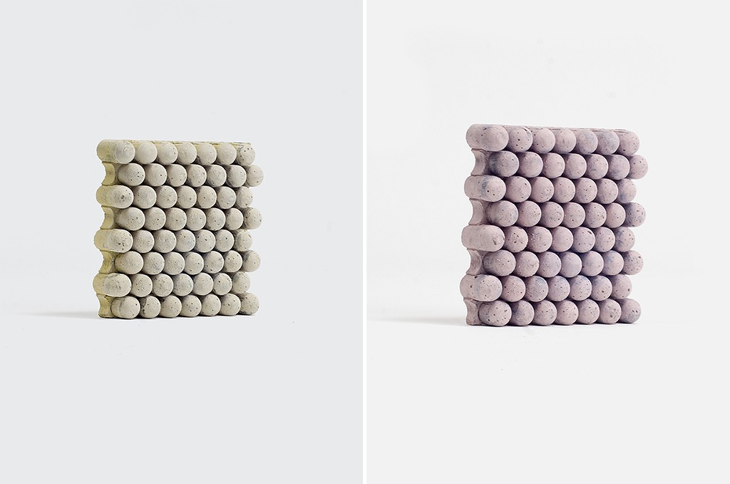 The Designer Reinterpreted The Decorative Properties Of Concrete