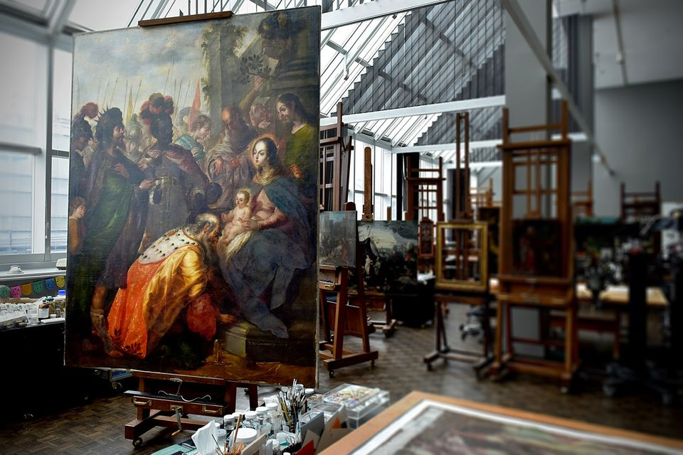The Amazing Picture of Baroque Painter Cristóbal de Villalpando Will Be Restored for the Met Show