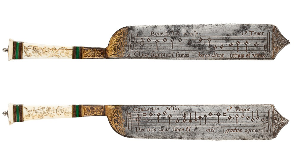 Extremely Rare Knives of the 16th Century Will Teach You How to Sing