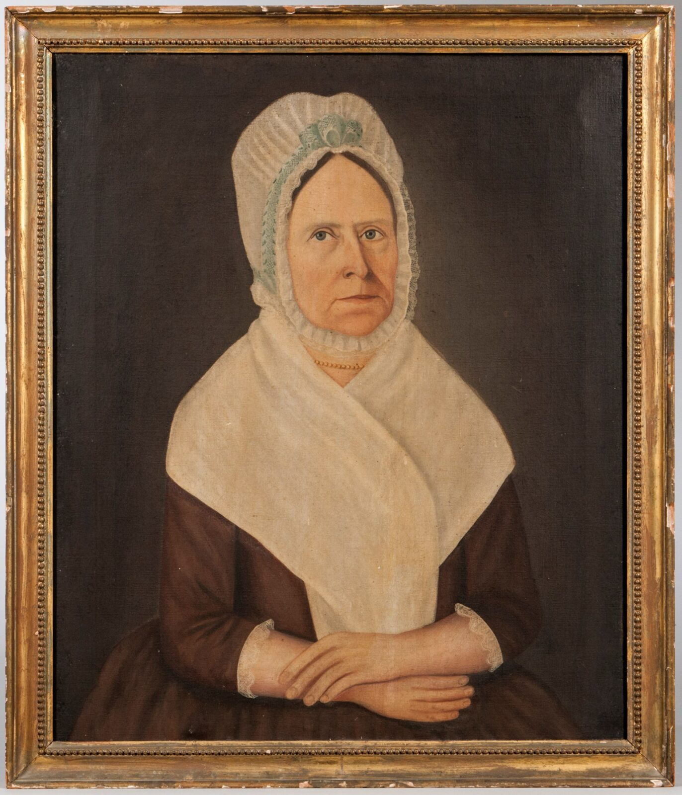 The American Folk Art Museum in New York has received gift of two portraits by John Brewster Jr.