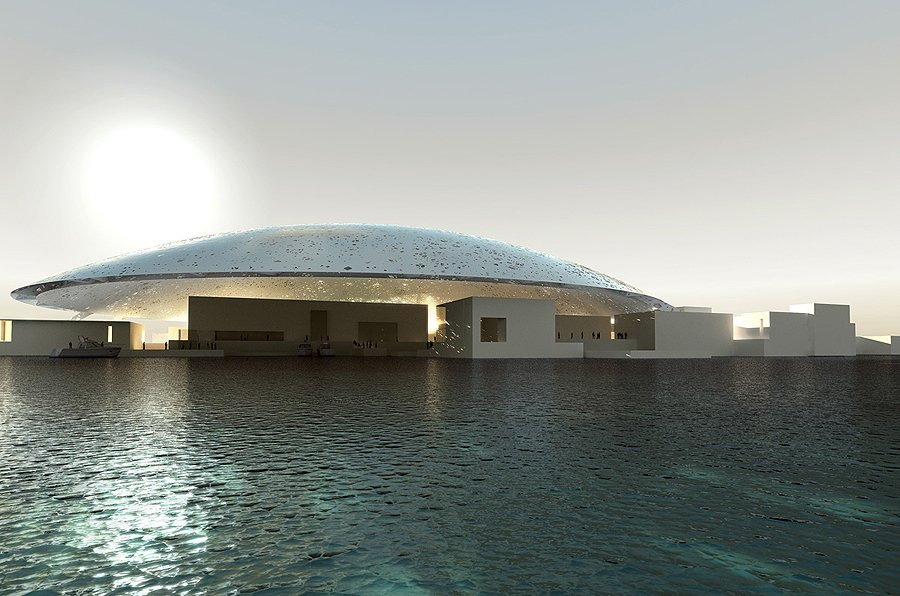 The Louvre Abu Dhabi is Preparing for the Opening
