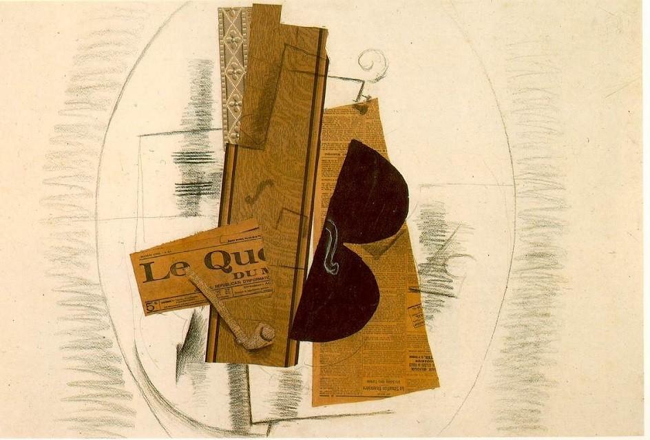 Collage - a popular modern art technique