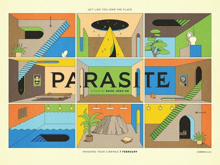 'Parasite' Fans With Their Own Alternative Movie Posters