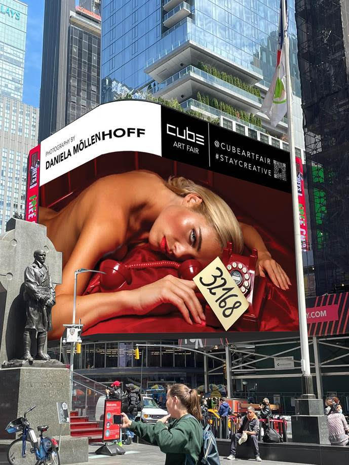 Cube Art Fair launches the World's largest Public Art Fair in New York, expecting 10 million visitors