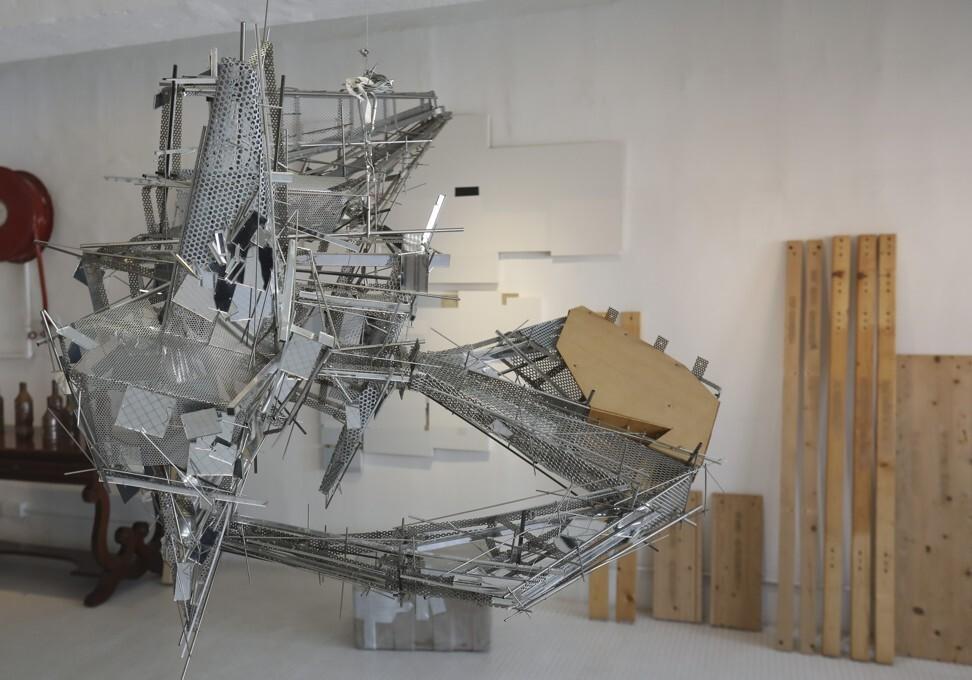 Hong Kong's M+ Museum - William and Lavina Lim's studio