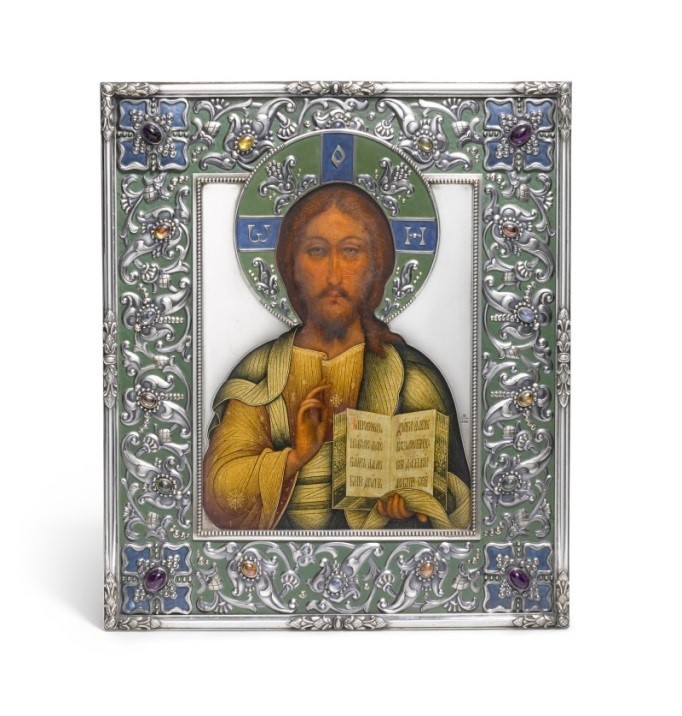 Sotheby's. $3 million at the auction of Russian applied arts