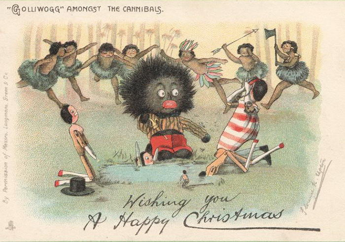 Best Creepy Victorian Christmas Cards Images