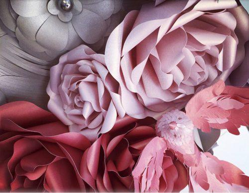 Fragile sculptural metamorphosis from Zoe Bradley
