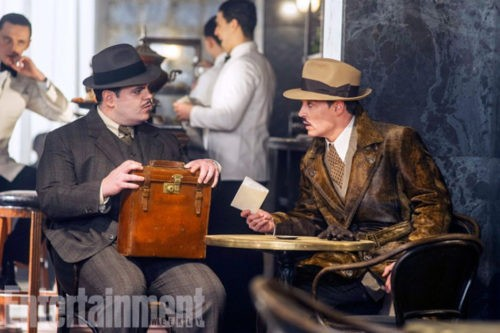 """The First Shots Of Agatha Christie """"Murder in the Orient Express"""" were published"""