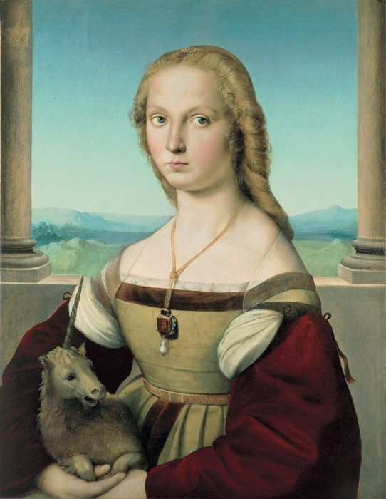 """The Secret of """"Lady with a Unicorn"""" By Raphael"""
