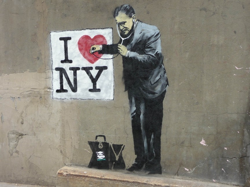 Top 5 the most influential street art artists in the world