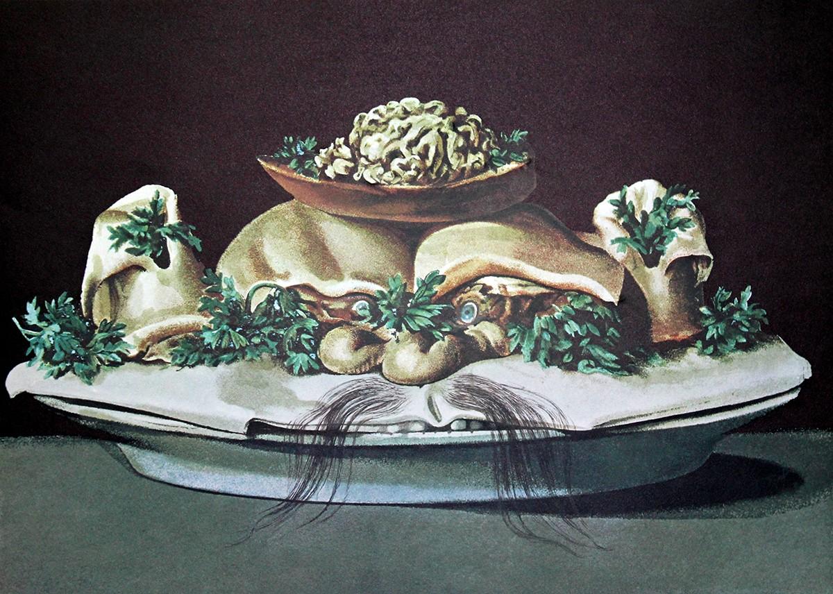 Les Diners De Gala By Salvador Dalí