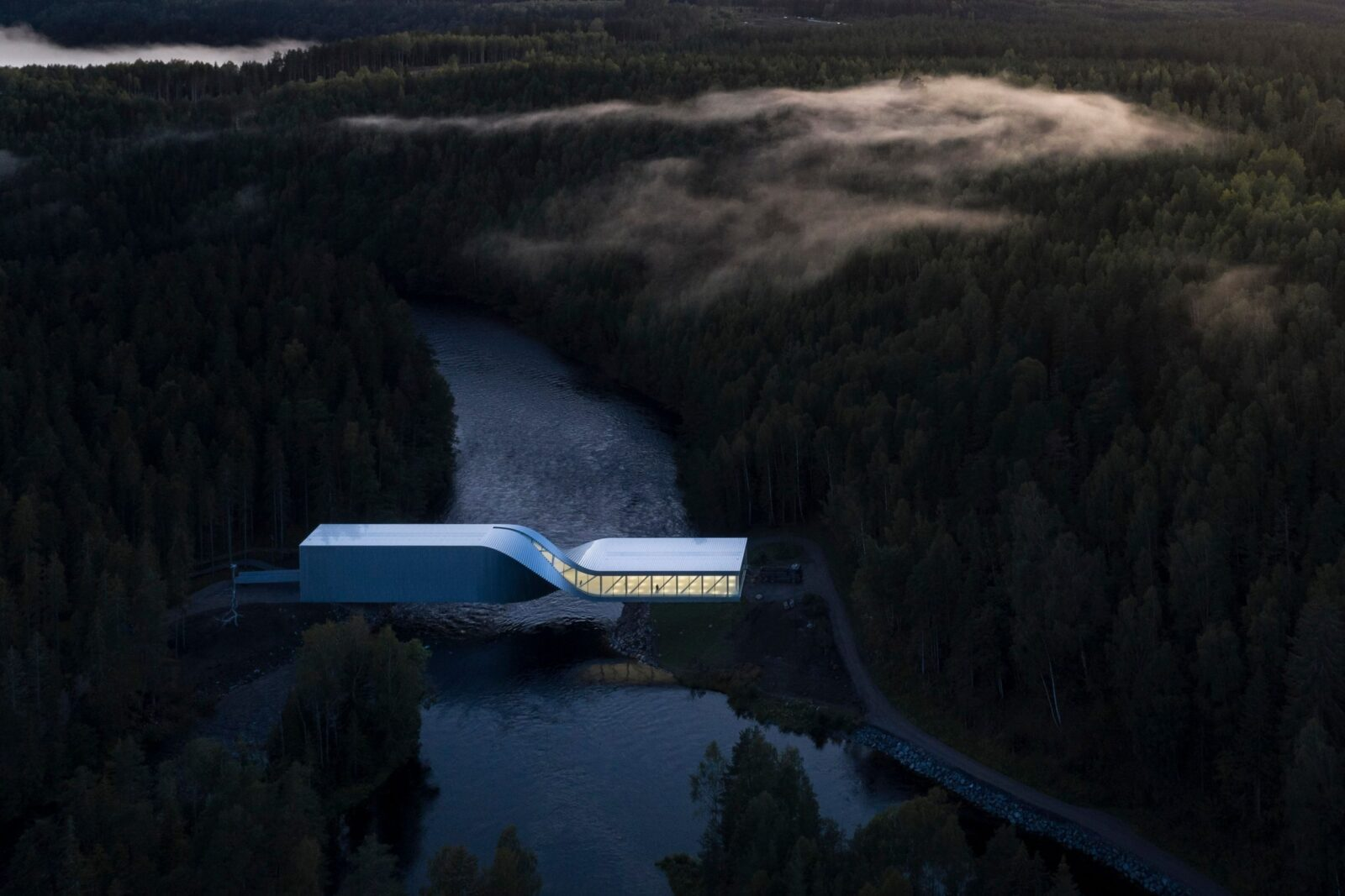 """Museum Oscar"" for best architecture won the gallery from Norway"