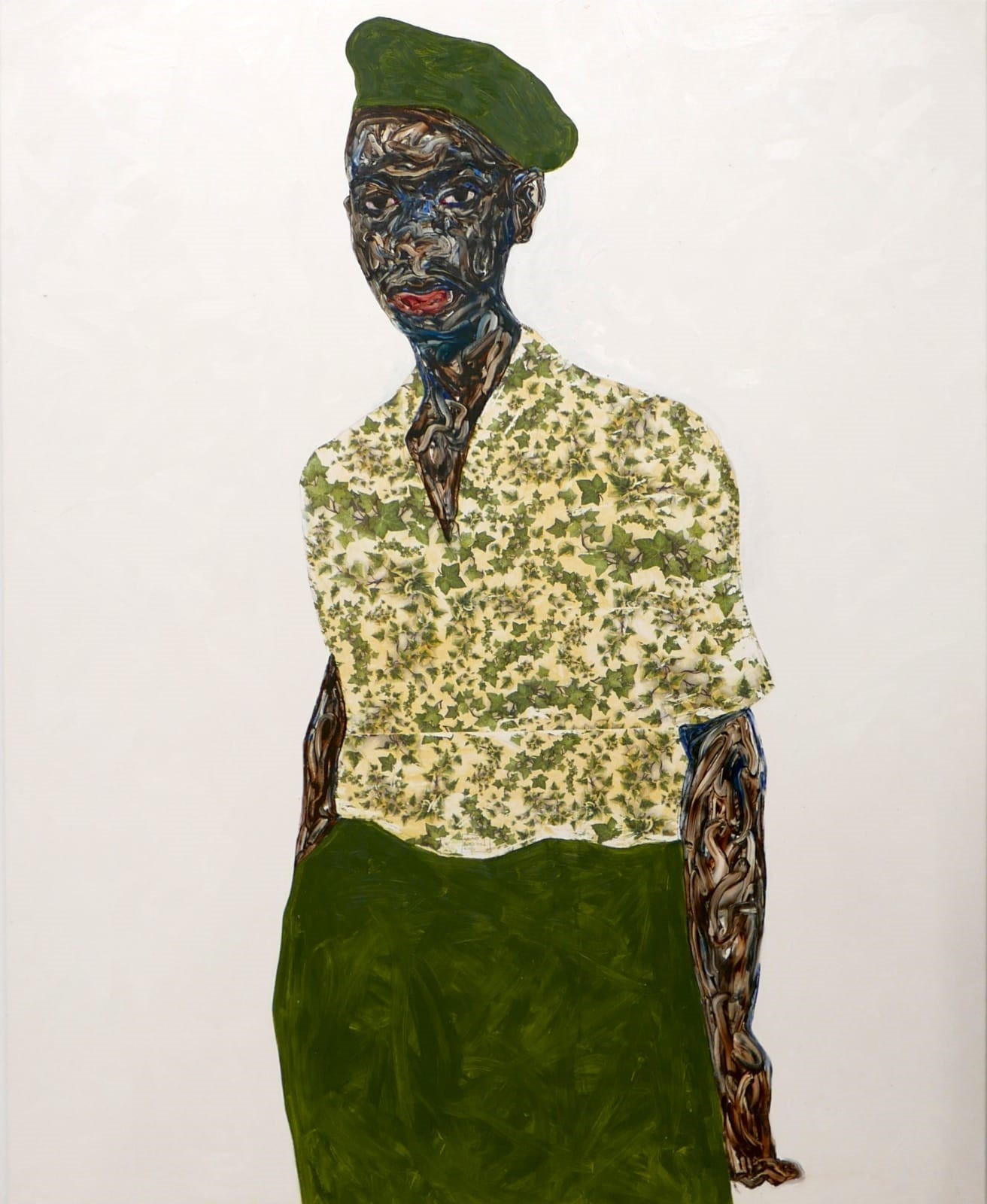 Artist Amoako Boafo helped to create the Dior collection