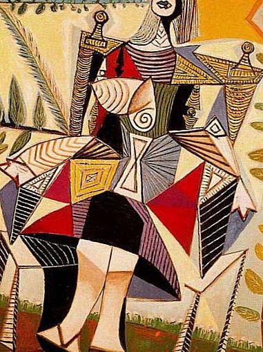 Pablo Picasso's Femme Dans Un Fauteuil (1941) - The Leading Lot At Christie's