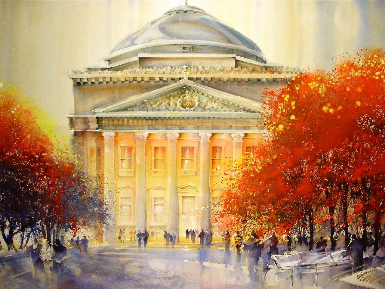 God of Watercolor Roland Palmaerts   USA Art News