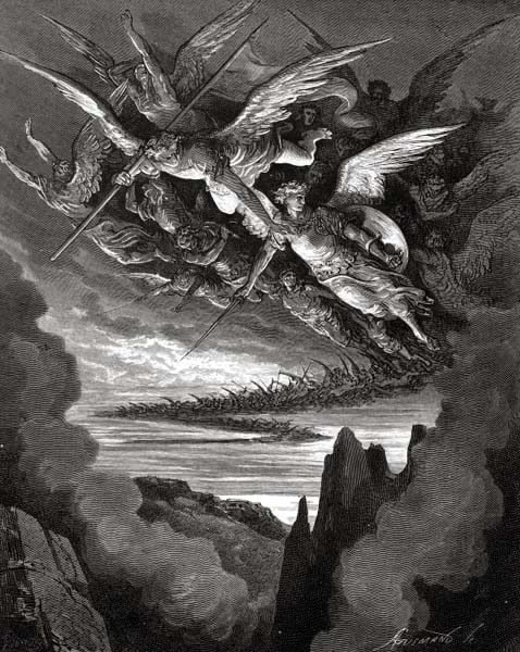 Genius Gustave Dore And His Angels