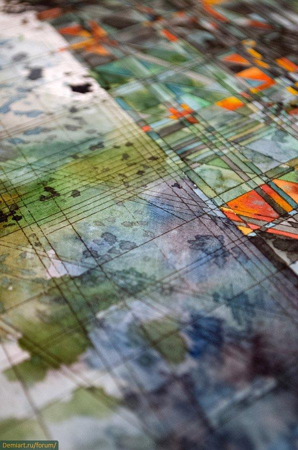 Geometric Watercolors By Jacob Van Loon