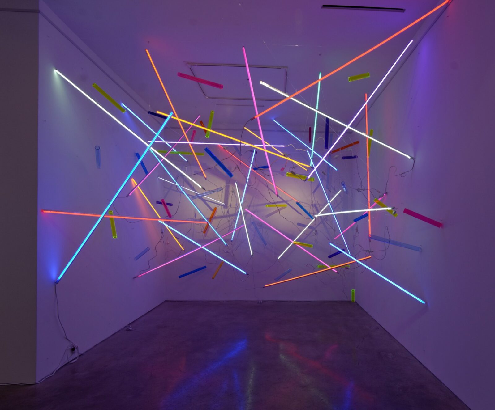 Temporal Experience In Light Installations by Adela Andea