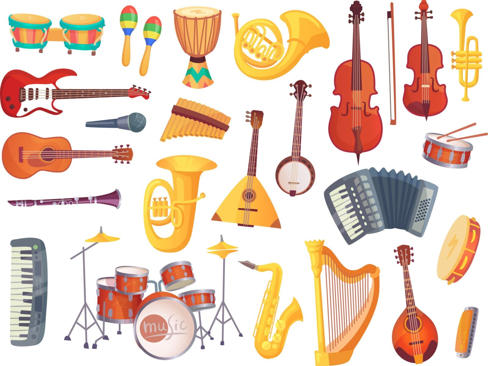 6 Benefits Of Learning To Play Musical Instruments
