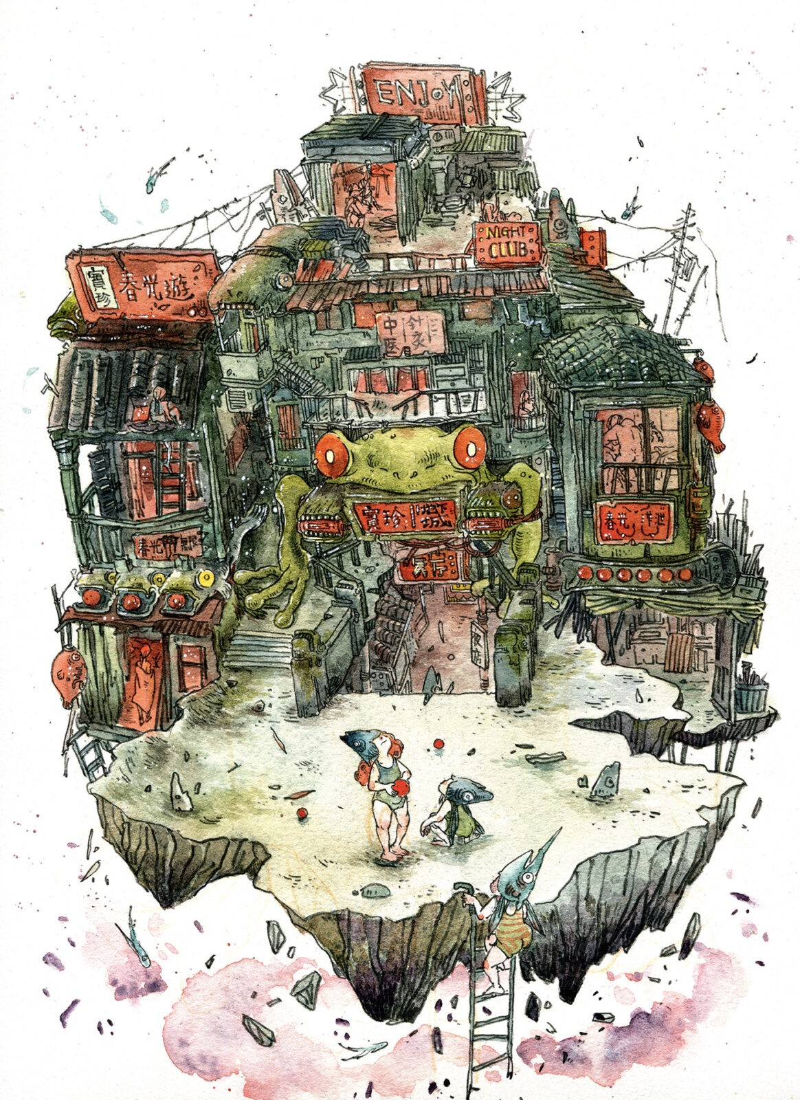 Illustrator Spotlight: Amber Ma