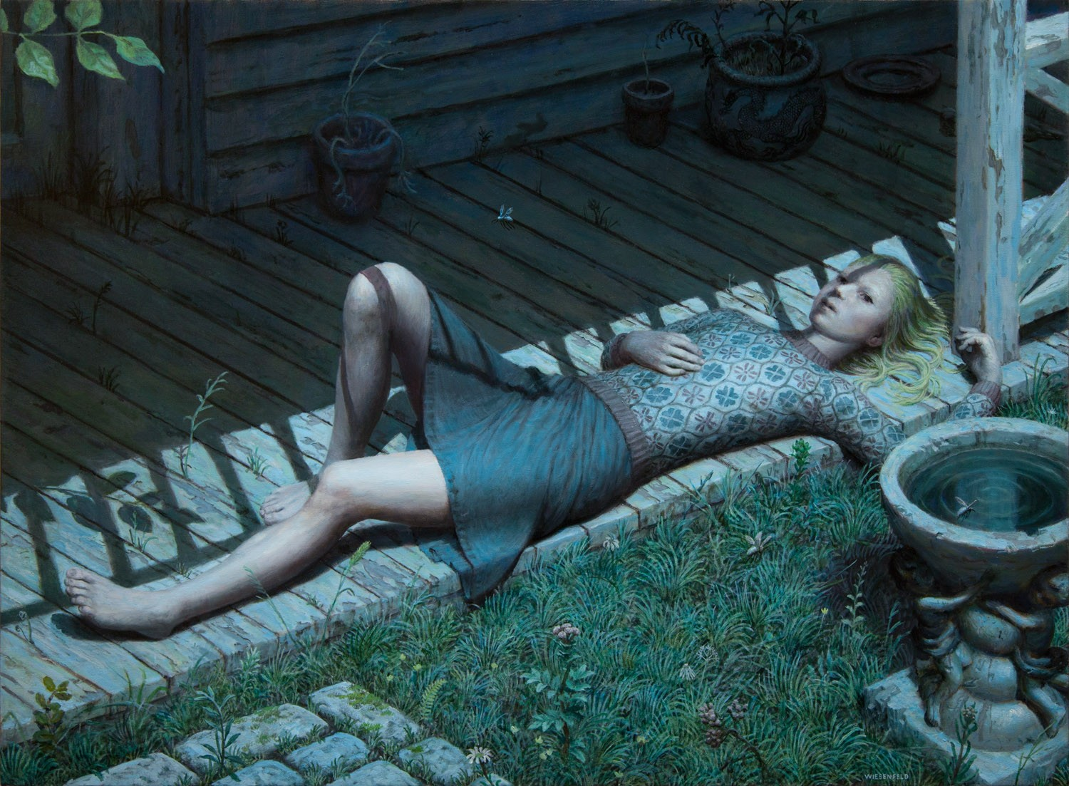 Quiet Scenes of Youthful Melancholy and Mystery by Aron Wiesenfeld