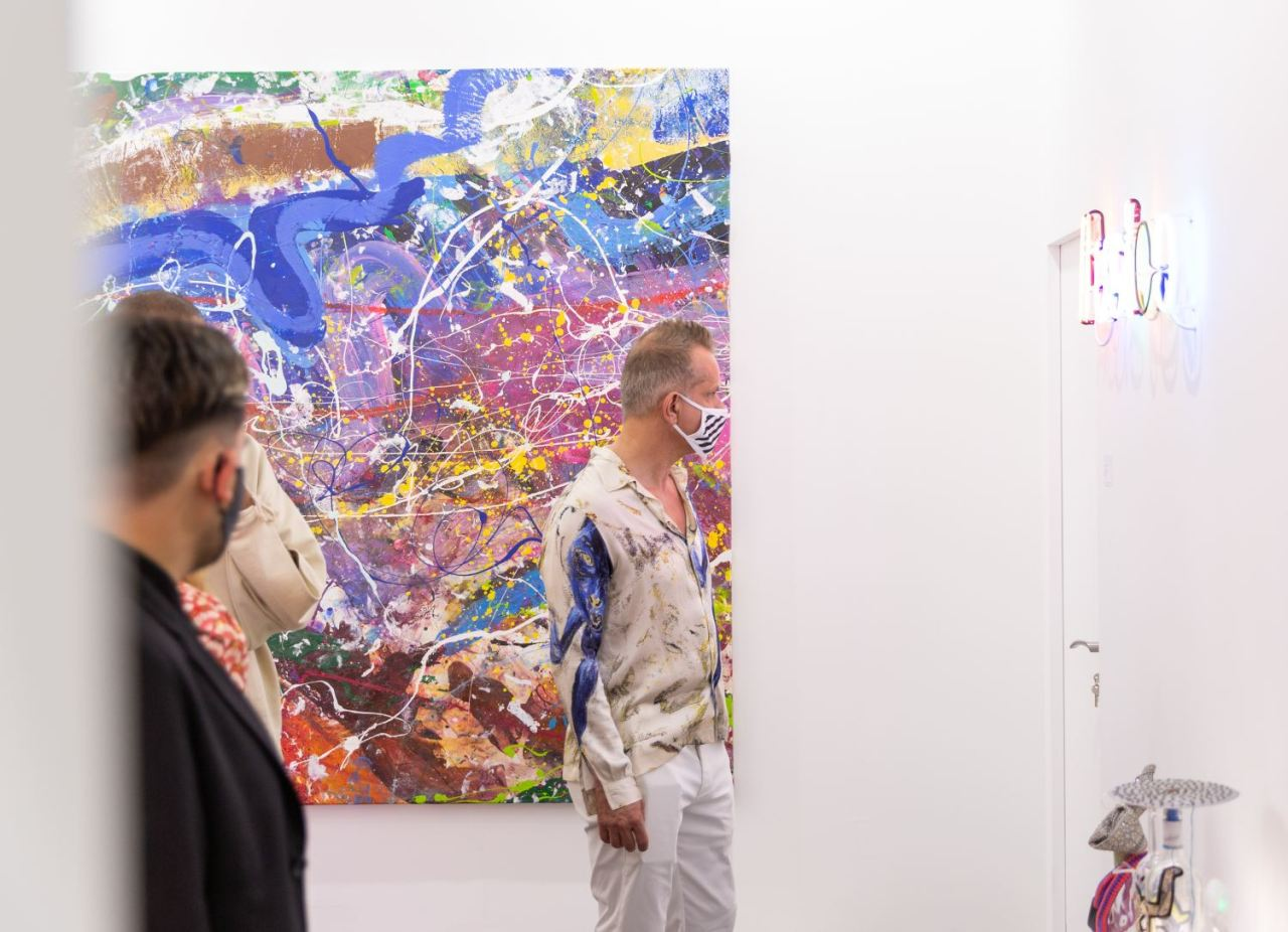 Opening of the Art Dubai Fair - in real life