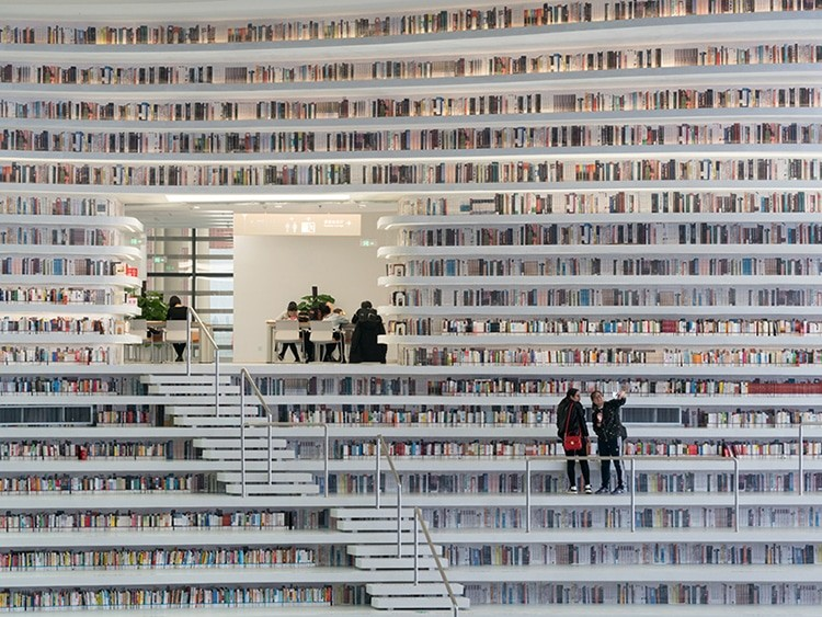 An Impressive Library Will Be Built In China By MVRDV