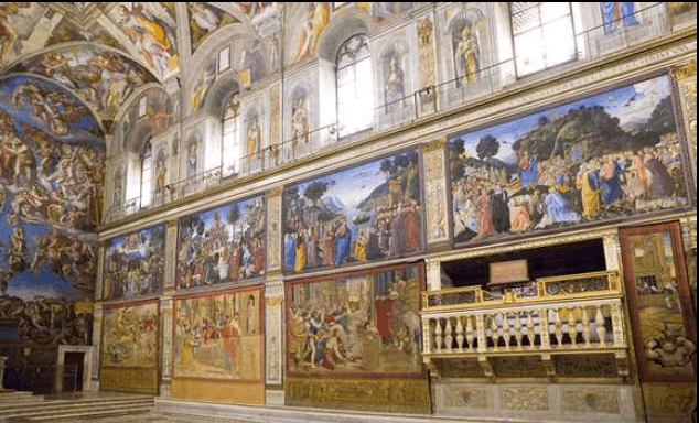 Raphael's tapestries return to the Sistine Chapel