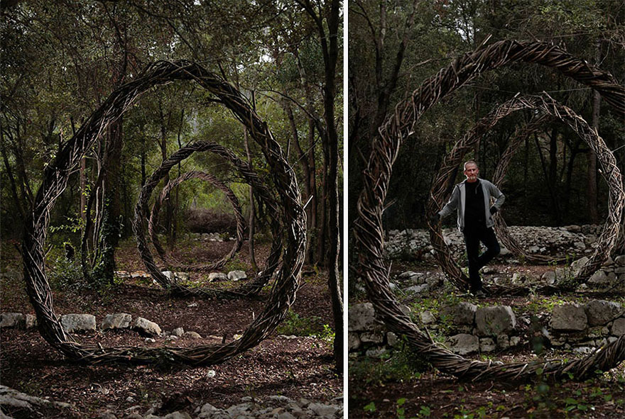 For A Year Living In The Forest, Spencer Biles Turned It Into A Fairy Tale