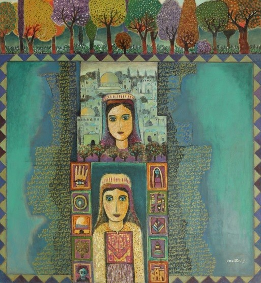 Paintings of Palestine by Nabil Anani