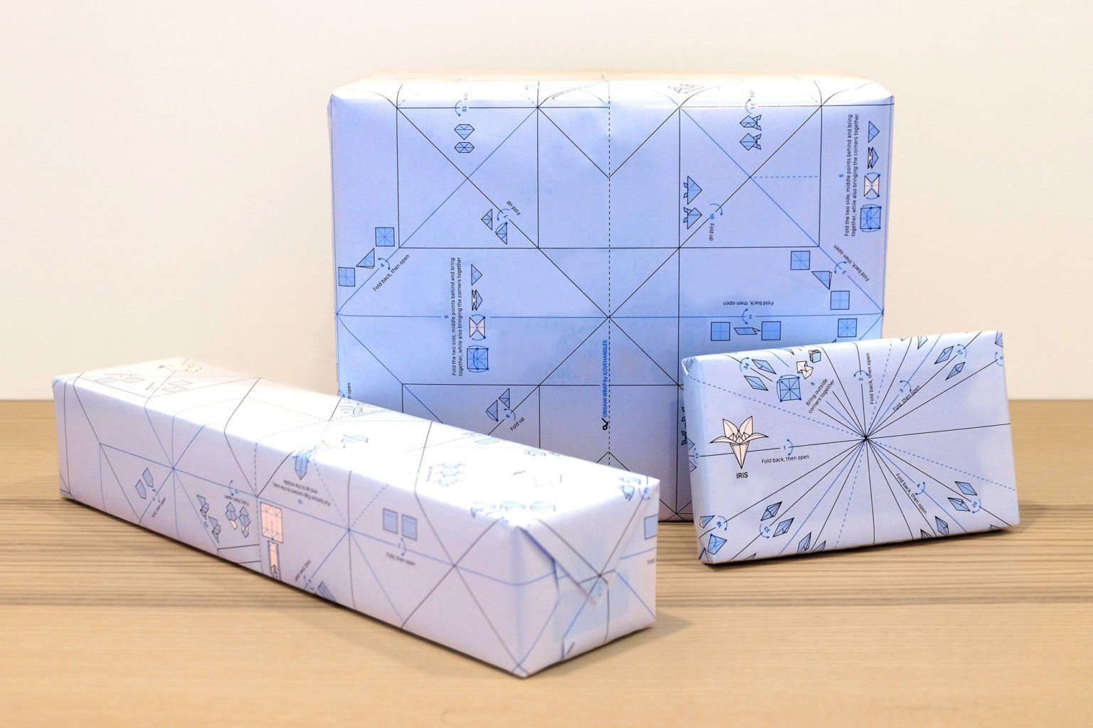 Origami Wrap Turns Disposable Gift-Wrapping Paper Into DIY Crafts