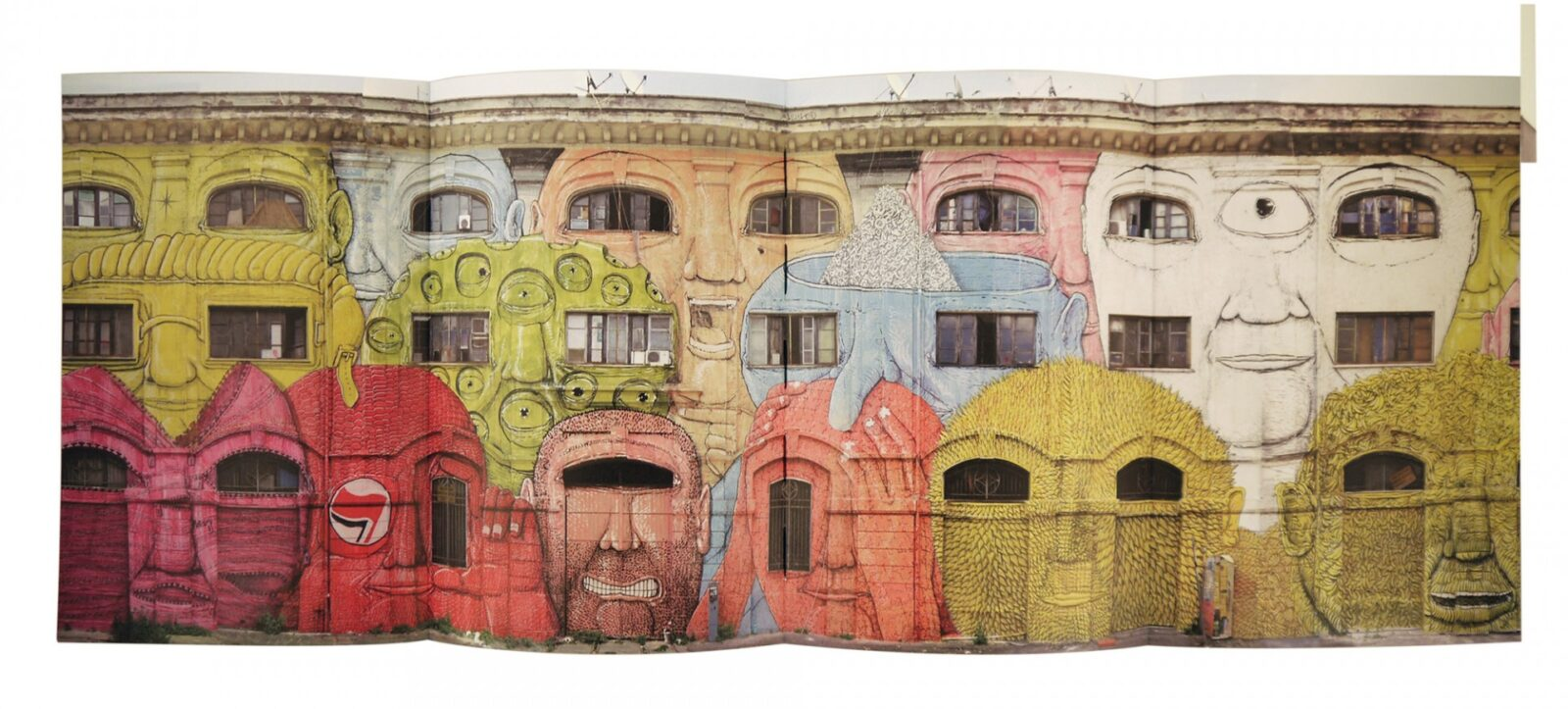 Minima Muralia: A Collection of 15 Years of Murals by Street Artist Blu