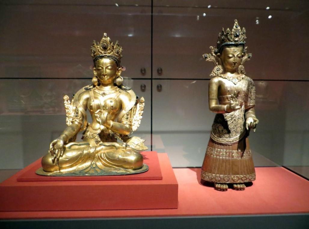 Buddhistische Gottheit, Nepal, 1400-1500