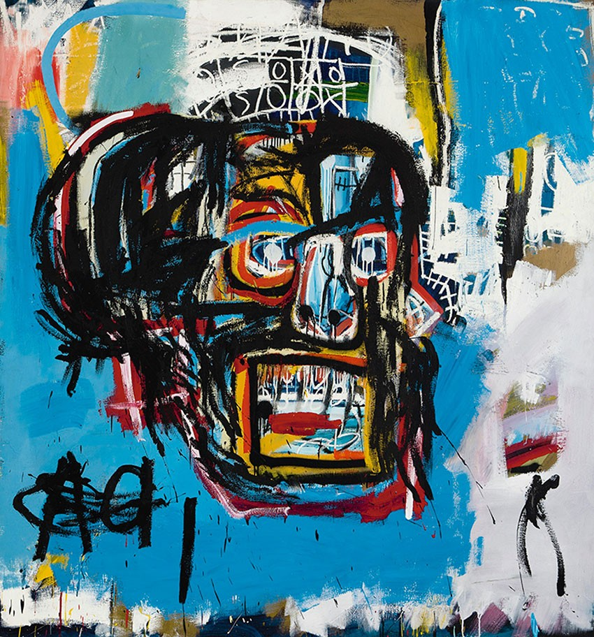 Jean-Michel Basquiat's Warrior - the most expensive Western work of art ever sold at auction in Asia