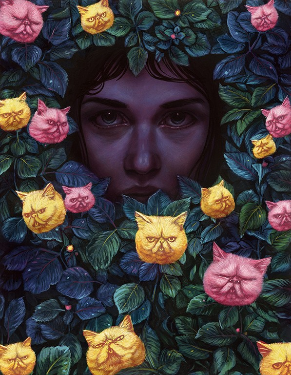 Casey Weldon Uses Cats As Inspiration To Create His Solo Exhibition