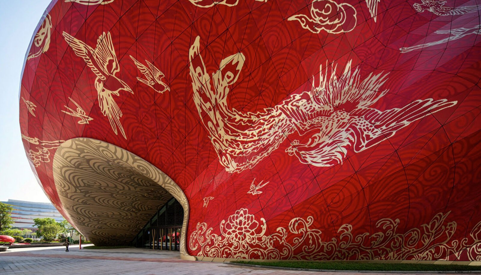 Steven Chilton Architects: Theater with a tattooed facade