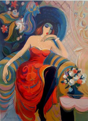 Where The Air Is Full Of Promises And Secrets... Artist Isaac Maimon