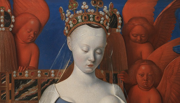More pearls, thinner hands. The secrets of Fouquet's Madonna were revealed